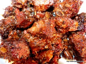 Poor Man's Burnt Ends and Tips