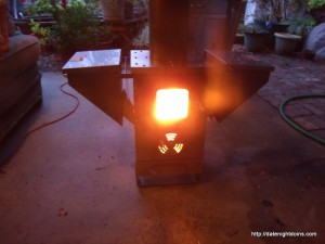 Wood Pellet Patio Heater Review