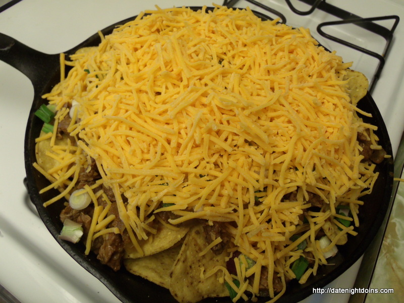 Shredded Beef Nachos Date Night Doins