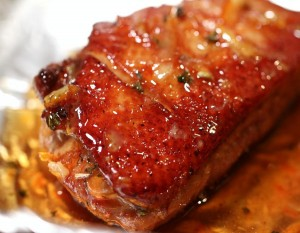 Guest CHEF G'S SEARED DUCK BREAST w/ SPICED ORANGE MARMALADE