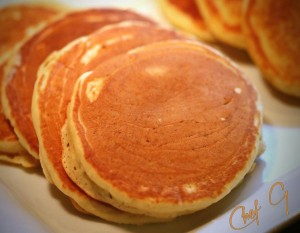 Guest Chef G's Best Homemade Pancakes