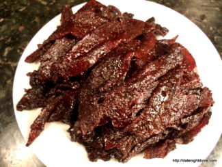 Chocolate Chipotle Bacon Candy